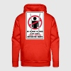 No Humans Allowed, Report Humans Restricted Earth - Men's Premium Hoodie