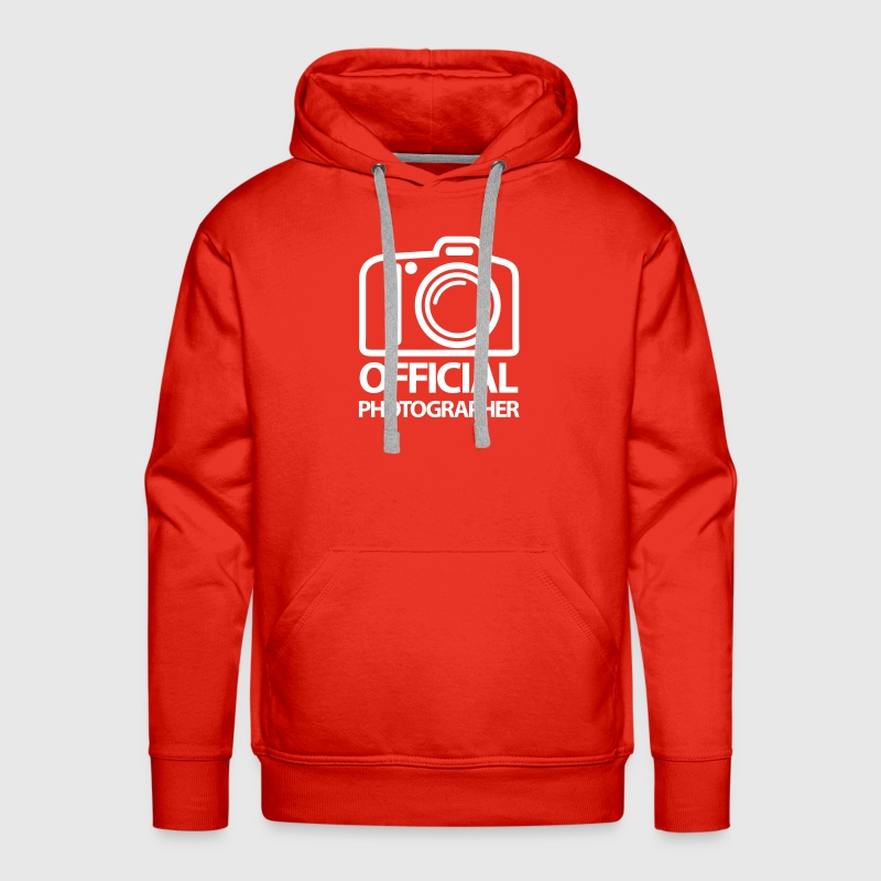 Official Photographer - Men's Premium Hoodie