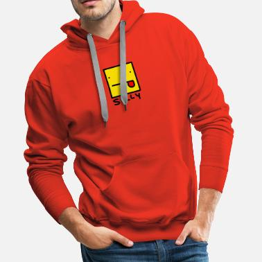 Silly Face Silly - Men's Premium Hoodie