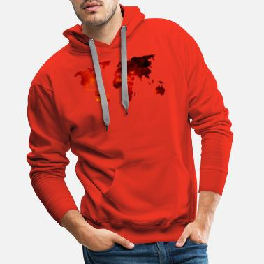 Universal Universal World - Men's Premium Hoodie