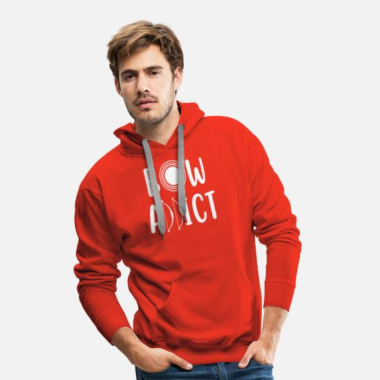 Arrow And Bow Hoodies & Sweatshirts - Archer - Archer T-shirt - Bow - Men's Premium Hoodie red