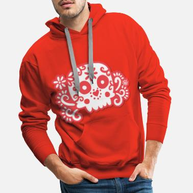 Day Of The Dead Mexico Day of the Dead - Men's Premium Hoodie