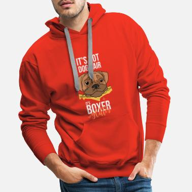 Deutscher Boxer It's not dog hair it's boxer glitter - Männer Premium Hoodie
