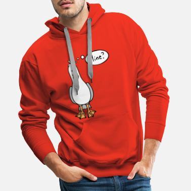 Bird from finding nemo - Men's Premium Hoodie