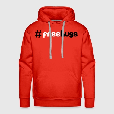 #FreeHugs - Premium hettegenser for menn