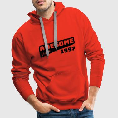 Awesome since 1997 / Birthday-Shirt - Men's Premium Hoodie