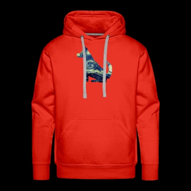 Art Dog - Dog Art - Men's Premium Hoodie