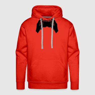 addicted - Men's Premium Hoodie