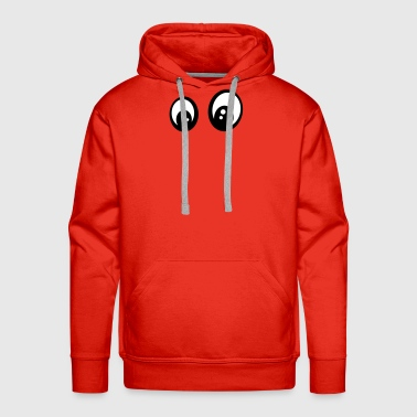 Eyes smiley question - Men's Premium Hoodie