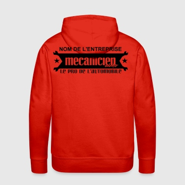 dessin-3automobile.svg - Sweat-shirt à capuche Premium pour hommes