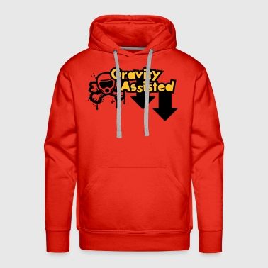 Gravity Assisted (2 colour) - Men's Premium Hoodie