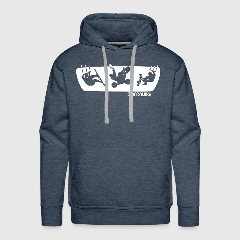 There is kiting to be done. - Men's Premium Hoodie