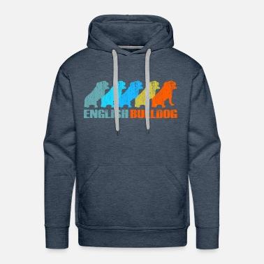 eed70d2a Engelsk Bulldog - Bulldogs Retro Gift Premium T-skjorte for menn ...