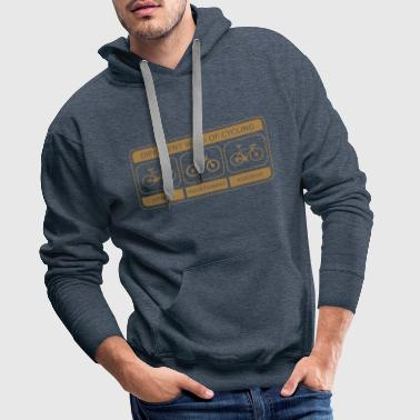 Different Ways Of Cycling - Männer Premium Hoodie