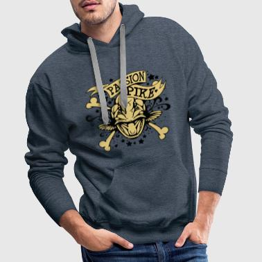 Passion Passion Pike - Männer Premium Hoodie