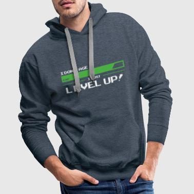 I Dont Age-I Just Level Up Birthday Retro T-Shirt - Men's Premium Hoodie