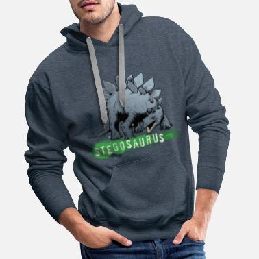 Animal Planet Animal Planet Stegosaurus - Men's Premium Hoodie