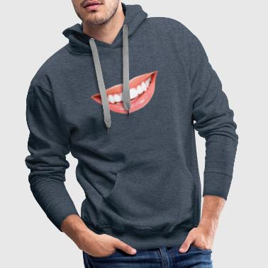 teeth - Men's Premium Hoodie