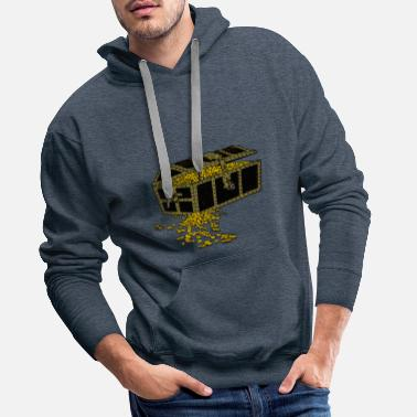 Chest Treasure chest - Men's Premium Hoodie
