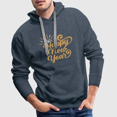 New Year's Eve / Happy New Year - Men's Premium Hoodie