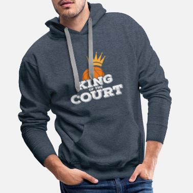 European Champion King in the square - Men's Premium Hoodie