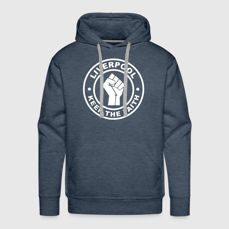 Liverpool Keep the Faith - Men's Premium Hoodie