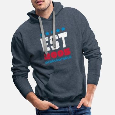 2005 EST 2005 - ESTABLISHED IN 2005 - Men's Premium Hoodie