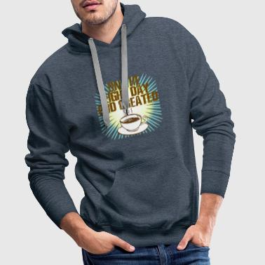 On the Eight Day God created Coffee - Männer Premium Hoodie