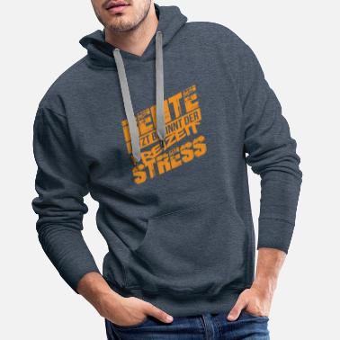 Pensioner pension - Men's Premium Hoodie