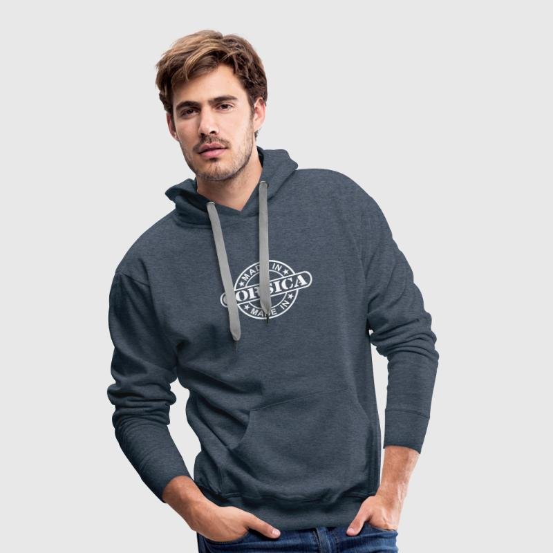 Made In Corsica - Sweat-shirt à capuche Premium pour hommes