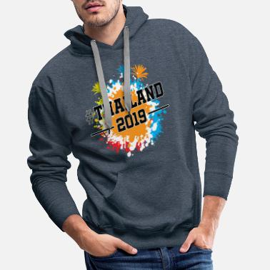 Association Thailand 2019 colorful - Men's Premium Hoodie