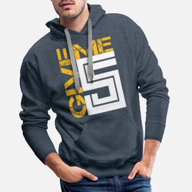 Motclé Give me Five - Sweat à capuche premium Homme