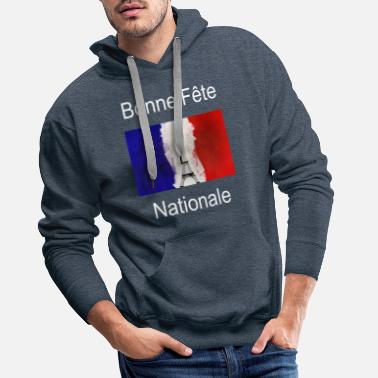 National Day Day French National Day - Men's Premium Hoodie