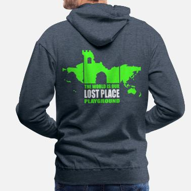 Lost Place - 2colors - 2011 - Miesten premium huppari