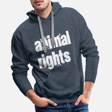 Animal Rights animal rights - Männer Premium Hoodie