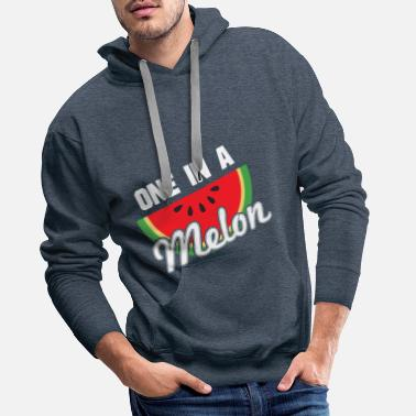 Cupid be my melontine 5 w - Men's Premium Hoodie