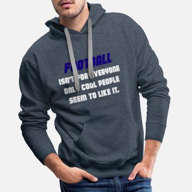 Quarterback American football rugby - Men's Premium Hoodie
