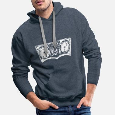Pixelated Ghetto Blasts - Men's Premium Hoodie