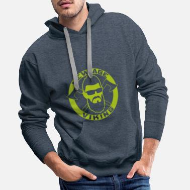 New Age NEW AGE VIKING Green - Men's Premium Hoodie