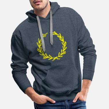 Laurel Wreath Laurel wreath - Men's Premium Hoodie