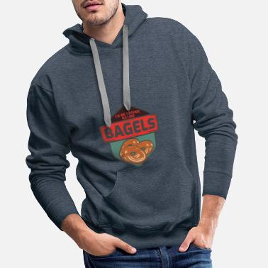 Burger Bagel - Sweat à capuche premium Homme