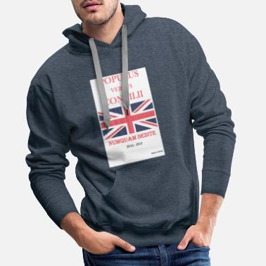 Brexit. People versus Parliament - Men's Premium Hoodie
