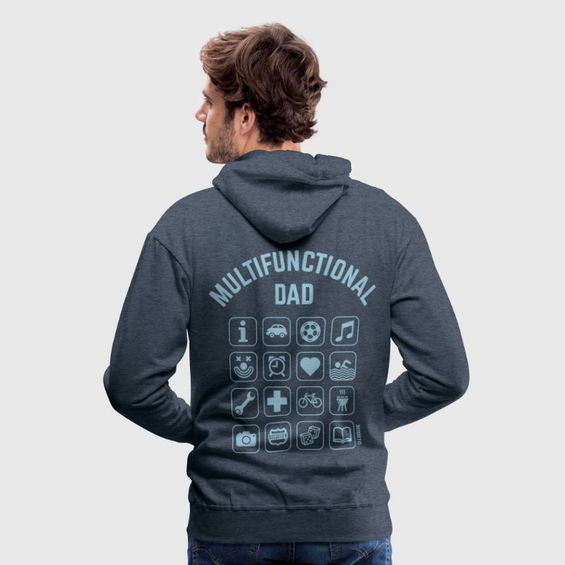 Multifunctional Dad (16 Icons) - Men's Premium Hoodie