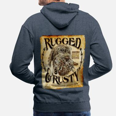 Rugged rugged and rusty - Men's Premium Hoodie
