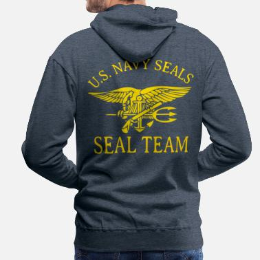 Easy SEALS ONE - Men's Premium Hoodie