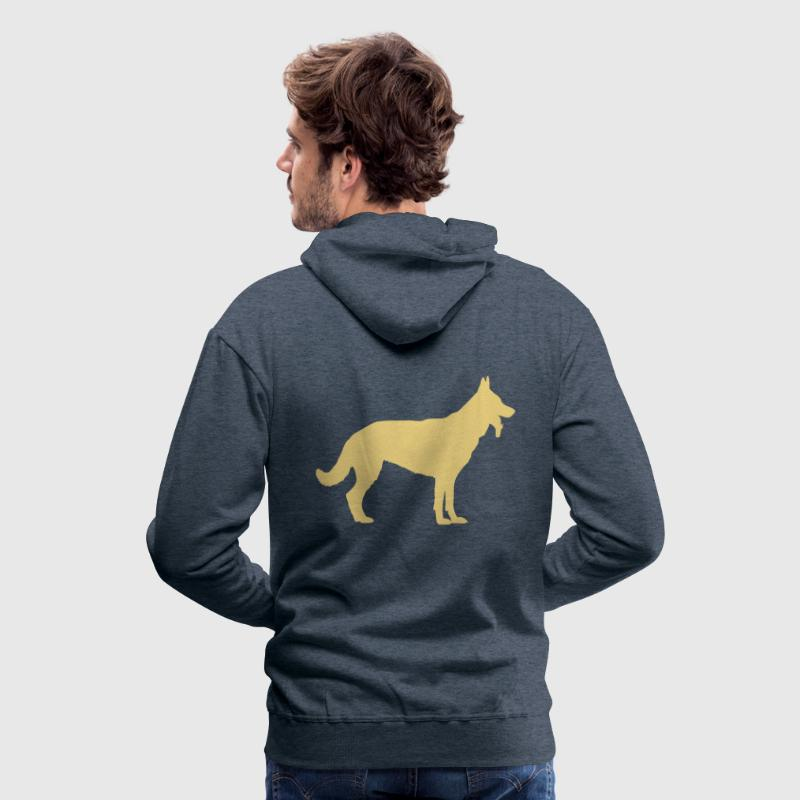 Deutscher Schäferhund - German Shepherd - Dog - Men's Premium Hoodie