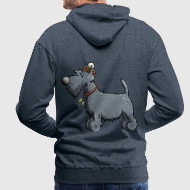Terrier écossais - Scottish Terrier - Sweat-shirt à capuche Premium pour hommes