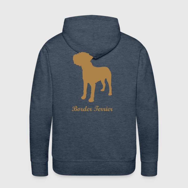 Border Terrier - Dog - Men's Premium Hoodie