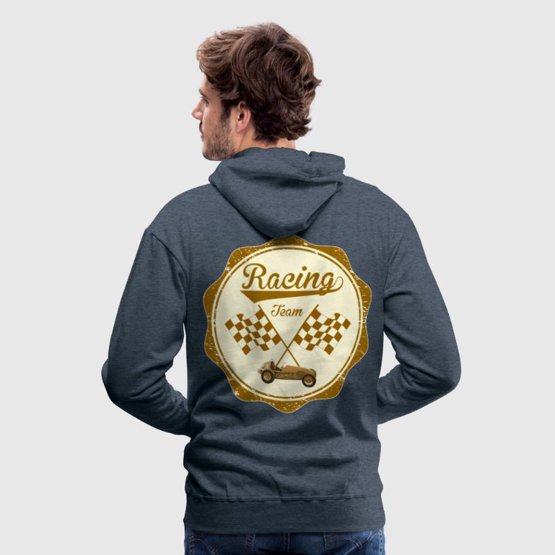 racing team retro - Männer Premium Hoodie