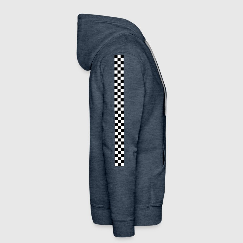 racing stripes - Men's Premium Hoodie